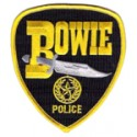 Bowie Police Department, Texas