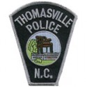 Thomasville Police Department, North Carolina