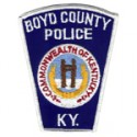 Boyd County Police Department, Kentucky