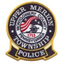 Upper Merion Township Police Department, Pennsylvania