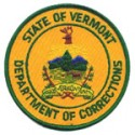 Vermont Department of Corrections, Vermont