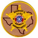 Ward County Sheriff's Department, Texas