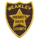 Weakley County Sheriff's Department, Tennessee