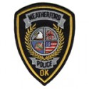 Weatherford Police Department, Oklahoma