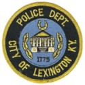 Lexington Police Department, Kentucky
