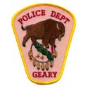 Geary Police Department, Oklahoma
