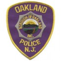 Oakland Police Department, New Jersey