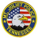 Mt. Juliet Police Department, Tennessee