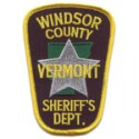 Windsor County Sheriff's Office, Vermont
