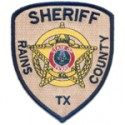 Rains County Sheriff's Department, Texas