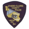 Athens-Clarke County Police Department, Georgia