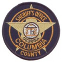 Columbia County Sheriff's Office, Georgia