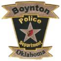 Boynton Police Department, Oklahoma