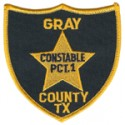 Gray County Constable's Office - Precinct 1, Texas