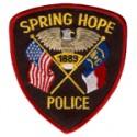 Spring Hope Police Department, North Carolina