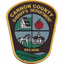 Cannon County Sheriff's Department, Tennessee