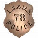 Lake Shore and Michigan Southern Railroad Police Department, Railroad Police