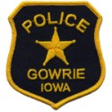 Gowrie Police Department, Iowa