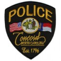 Concord Police Department, North Carolina