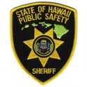 Hawaii Department of Public Safety - Sheriff Division, Hawaii