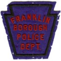 Franklin Borough Police Department, Pennsylvania