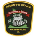 Greensville County Sheriff's Office, Virginia
