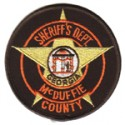 McDuffie County Sheriff's Office, Georgia