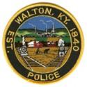 Walton Police Department, Kentucky