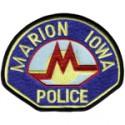 Marion Police Department, Iowa