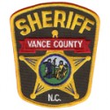 Vance County Sheriff's Office, North Carolina