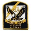 New Hope Police Department, Alabama