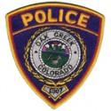 Oak Creek Police Department, Colorado