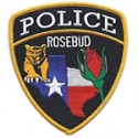Rosebud Police Department, Texas