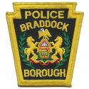 Braddock Borough Police Department, Pennsylvania