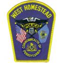 West Homestead Borough Police Department, Pennsylvania