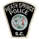 Heath Springs Police Department, South Carolina