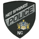 Hot Springs Police Department, North Carolina