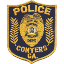 Conyers Police Department, Georgia