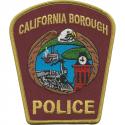 California Borough Police Department, Pennsylvania