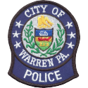Warren Police Department, Pennsylvania