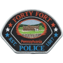 Forty Fort Borough Police Department, Pennsylvania