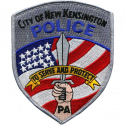 New Kensington Police Department, Pennsylvania