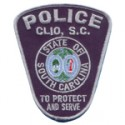 Clio Police Department, South Carolina