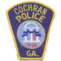Cochran Police Department, Georgia
