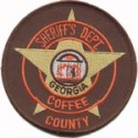 Coffee County Sheriff's Office, Georgia
