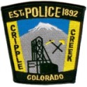 Cripple Creek Police Department, Colorado