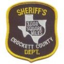 Crockett County Sheriff's Office, Texas