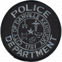 Danville Police Department, Kentucky