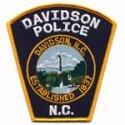 Davidson Police Department, North Carolina