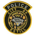 Estill Police Department, SC